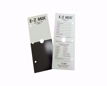 79000 color match card front and back