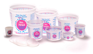 E-Z Mix Cups and Lids